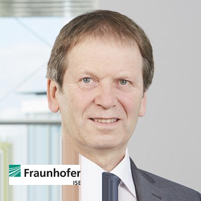 Dr. Hans-Martin Henning, Director, Fraunhofer